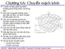 Chương 6A: Chuyển mạch kênh