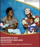 Countdown to 2015  deCade report (2000–2010): Taking stock of maternal, newborn and child survival