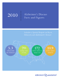 Alzheimer's Disease Facts and Figures 2010