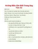 Những Điều Cần Biết Trong Sxg Tôm Sú