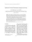 """Báo cáo """" Application of fed-batch fermentation in high-gravity brewing """""""