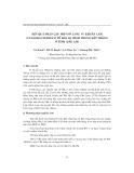 """Báo cáo """" Kết quả phân lập một số LOài Vi khuẩn lam (cyanobacteria)có tế bào dị hình trong đất trồng ở tỉnh Đắk Lắk """""""