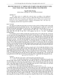 """Báo cáo """" PHƯƠNG PHÁP XỬ LÝ THỐNG KÊ CỔ ĐIỂN CHO HỆ SỐ PHÁT THẢI CHẤT THẢI NGUY HẠI TRUNG BÌNH TOÀN PHƯƠNG  """""""