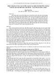 """Báo cáo """" HIỆN TRẠNG CUNG CẤP NƯỚC SẠCH TẠI MỘT SỐ PHƯỜNG NGOẠI THÀNH THÀNH PHỐ HỒ CHÍ MINH – GIẢI PHÁP KHẮC PHỤC """""""