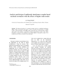 """Báo cáo """" Analysis and design of multimode interference coupler based racetrack resonators with the effects of higher order modes """""""