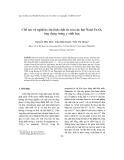 """Báo cáo """" Chế tạo và nghiên cứu tính chất từ của các hạt Nanô Fe3O4 ứng dụng trong y sinh học """""""
