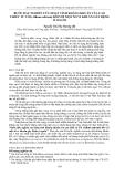 """Báo cáo """" BƯỚC ĐẦU NGHIÊN CỨU HOẠT TÍNH KHÁNG KHUẨN CỦA CAO CHIẾT TỪ TỎI (Allium sativum) ĐỐI VỚI MỘT SỐ VI KHUẨN GÂY BỆNH Ở NGƯỜI """""""