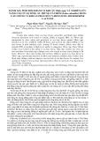"""Báo cáo """"  ĐÁNH GIÁ TÍNH ĐỐI KHÁNG VI KHUẨN Vibrio spp. VÀ NGHIÊN CỨU NÂNG CAO TỶ LỆ SỐNG ẤU TRÙNG CÁ CHẼM (Lates calcarifer) BẰNG CÁC CHỦNG VI KHUẨN PHÂN HỦY N-HEXANOYL HOMOSERINE LACTONE """""""