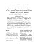 """Báo cáo """" Nghiên cứu khả năng hấp thu một số kim loại nặng (Cu2+, Pb2+, Zn2+) trong nước của nấm men Saccharomyces cerevisiae """""""