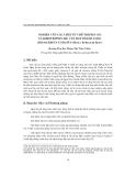 """Báo cáo """" Nghiên cứu Các chất ức chế tripxin (ti) và kimotripxin (KI) của Hạt thanh long (HYLOCEREUS UNDATUS (Haw.) Britton & Rose) """""""