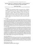 """Báo cáo """" PHƯƠNG PHÁP XỬ LÝ THỐNG KÊ CỔ ĐIỂN CẢI TIẾN CHO HỆ SỐ PHÁT THẢI CHẤT THẢI NGUY HẠI TRUNG BÌNH """""""