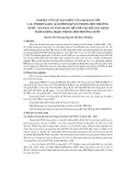 """Báo cáo """" Nghiên cứu sự tạo phức của mangan với 1-(2- PYRIDYLAZO) -2-NAPHTOL(PAN) trong môi trường nước - etanol và ứng dụng để CHế tạo KIT xác định hàm lượng Mn(II) trong môi trường nước """""""