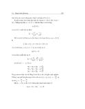 Bài tập toán cao cấp  - chương 6.  Dạng toàn phân và ứng dụng