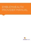 Sách: EMBLEMHEALTH  PROVIDER MANUAL