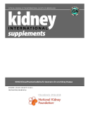 KDIGO Clinical Practice Guideline for Anemia in Chronic Kidney Disease