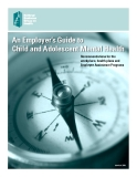 An Employer's Guide to Child and Adolescent Mental Health