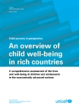 Child poverty in perspective: An overview of  child well-being  in rich countries
