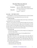 Bài giảng Trồng rừng phòng hộ - Cao Đình Sơn