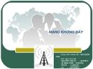 Mạng không dây - SVTH: Nguyễn Thế Vũ