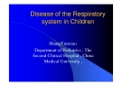 Disease of the Respiratory system in Children
