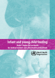 Infant and young child feeding: Model Chapter for textbooks for medical students and allied health professionals