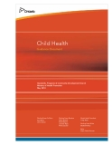 Child Health Guidance Document: Standards, Programs & Community Development Branch Ministry of Health Promotion May 2010