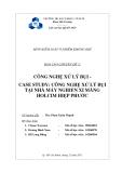 Đề Tài: Công nghệ xử lý bụi tại nhà máy nghiền xi măng Holcim Hiệp Phước