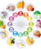 Điều cần biết khi dùng vitamin, dưỡng chất