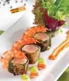 Cá ngừ cuộn rong biển