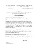 Quyết định số 1120/QĐ-TTg