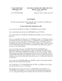 Quyết định số 16/2012/QĐ-UBND