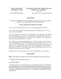 Quyết định số 2076/2012/QĐ-UBND