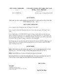 Quyết định số 1197/QĐ-TTg