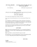 Quyết định số 1193/QĐ-TTg