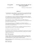 Thông tư số 126/2012/TT-BTC