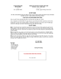 Quyết định số 1223/QĐ-UBND