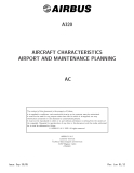 AIRBUS - AIRCRAFT CHARACTERISTICS AIRPORT AND MAINTENANCE PLANNING