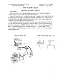 CNC TURNING BASIS - Chương 1: Giới thiệu về máy CNC
