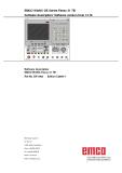 EMCO WinNC GE Series Fanuc 21