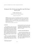 """Báo cáo """" Đa dạng tảo Silic ở bãi tôm cửa Cung Hầu (sông Tiền Giang) tỉnh Trà Vinh """""""