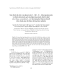 """Báo cáo """"  Xác định cấu trúc của Quercetin 3 - Oβ - D – Glucopyranoside và Myricttrin tinh sạch từ phân đoạn dịch chiết là khế (Averrhoa carambola L.) có tác dụng hạ Glucose huyết trên chuột gây đái tháo đường thực nghiệm """""""