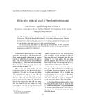 """Báo cáo """" Điều chế và tính chất của 1,4-Phenylendiisothioxianat """""""