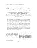 """Báo cáo """"  Ô nhiễm asen trong nước ngầm và khả năng xử lý tại chỗ quy mô hộ gia đình tại xã Trung Châu, Đan Phượng, Hà Nội """""""