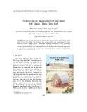 """Báo cáo """"  Nghiên cứu các mẫu gạch cổ ở Tháp Chàm Mỹ Khánh - Thừa Thiên Huế """""""