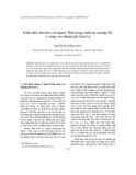 """Báo cáo """" Kiến thức bản địa của người Thái trong canh tác nương rẫy ở vùng ven thành phố Sơn La """""""