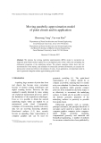 """Báo cáo """"  Moving parabolic approximation model of point clouds and its application """""""