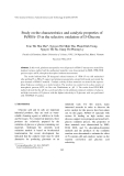 """Báo cáo """" Study on the characteristics and catalytic properties of Pt/SBA-15 in the selective oxidation of D-Glucose """""""