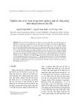 """Báo cáo """" Nghiên cứu xử lý Asen trong nước ngầm ở một số vùng nông thôn bằng hyđroxit sắt (III) """""""