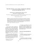 """Báo cáo """" Đặc điểm sinh học của các chủng vi khuẩn lactic phân lập trên địa bàn thành phố Hà Nội """""""