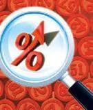Đề xuất ba phương án giảm lãi suất